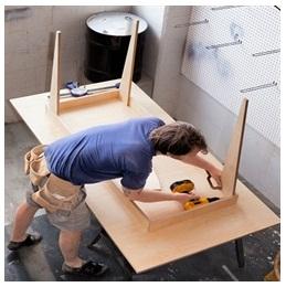 Сборка столов по низким ценам в Краснодаре от специалистов