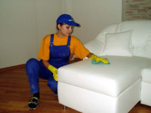 Чистка мебели на дому в Краснодаре