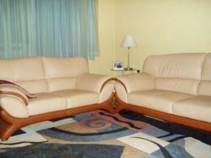 Перетяжка кожаной мебели в Краснодаре